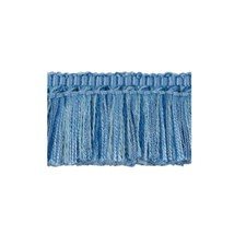 Moss Canton Blue Trim by Brunschwig & Fils