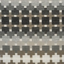 Black/Brown/Creme Transitional Decorator Fabric by JF