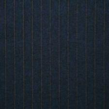 Navy Stripe Decorator Fabric by Pindler