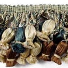 Tassel Fringe Slate Trim by Lee Jofa