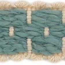 Braids Light Blue/Light Green/White Trim by Groundworks