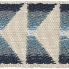 Braids Beige/Blue/Light Blue Trim by Groundworks
