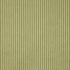 Brown/Light Green Stripes Decorator Fabric by Kravet