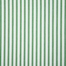 Emerald Stripe Decorator Fabric by Pindler