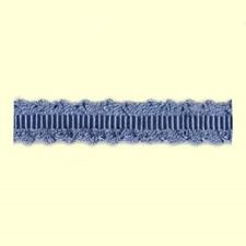 Toile Blue Trim by Scalamandre