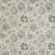 Slate/Rust/Light Grey Botanical Decorator Fabric by Kravet