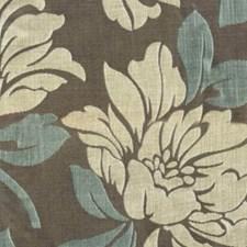 Blue Grey Decorator Fabric by RM Coco