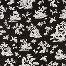 Coal Decorator Fabric by Scalamandre