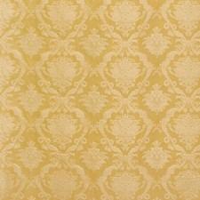 Gold Damask Decorator Fabric by Scalamandre