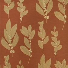Cinnabar Floral Wallcovering by Stroheim Wallpaper