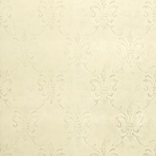 Ivory Historic Reproduction Wallcovering by Stroheim Wallpaper