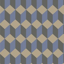 Blue and Black Print Wallcovering by Cole & Son Wallpaper