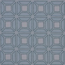 Blue Topaz On Cotton Canvas Linen Wallcovering by Phillip Jeffries Wallpaper