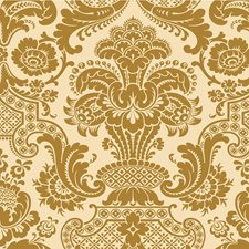 Gold Print Wallcovering by Cole & Son Wallpaper