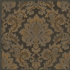 Charcoal/Bronze Print Wallcovering by Cole & Son Wallpaper