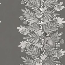 Charcoal/Silver Print Wallcovering by Cole & Son Wallpaper