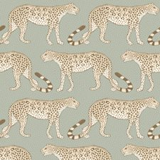 Olive/White Print Wallcovering by Cole & Son Wallpaper