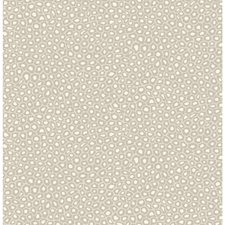 Stone/White Print Wallcovering by Cole & Son