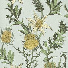 Lemon/Olive/D Egg Print Wallcovering by Cole & Son Wallpaper