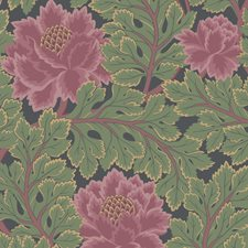 Rose/Forest/Char Botanical Wallcovering by Cole & Son Wallpaper