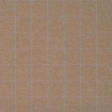 Plaid White on Tan Wallcovering by Phillip Jeffries Wallpaper