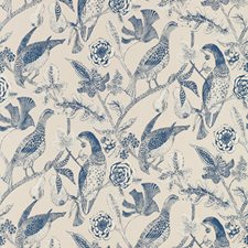 Navy Wallcovering by Schumacher Wallpaper