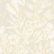 Mustard Traditional Wallpaper Wallcovering by Brewster