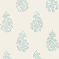 Water Blue Wallcovering by Schumacher Wallpaper