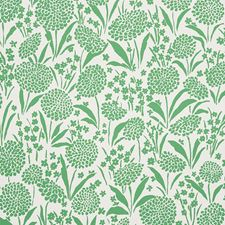 Green Wallcovering by Schumacher