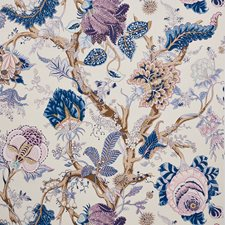 Hyacinth Wallcovering by Schumacher Wallpaper