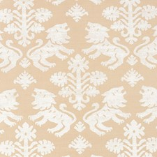 Ivory On Natural Wallcovering by Schumacher