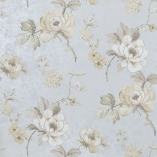 Slate Floral Wallcovering by Fabricut Wallpaper