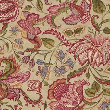Burgundy/Red/Multi Traditional Wallcovering by JF Wallpapers