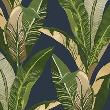 Blue/Green Contemporary Wallcovering by JF Wallpapers