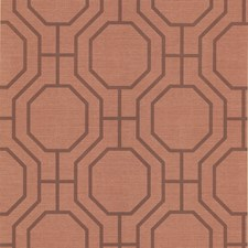 Orange Wallcovering by Brewster