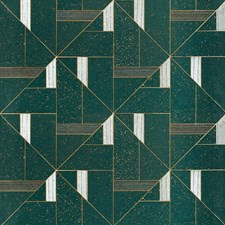 Galactic Green Wallcovering by Phillip Jeffries Wallpaper
