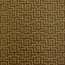 Brown Metallic Wallcovering by Clarence House Wallpaper