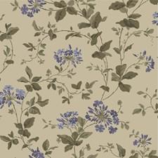 Beige/Blue Wallcovering by Cole & Son Wallpaper