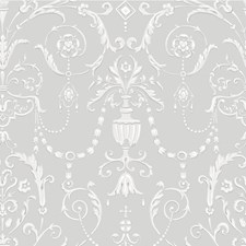 Grey Damask Wallcovering by Cole & Son Wallpaper