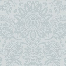 Duck Egg Blu Damask Wallcovering by Cole & Son Wallpaper