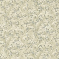 Platinum Scroll Wallcovering by Brewster