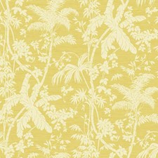 White/Bright Yellow/Golden Yellow Botanical Wallcovering by York