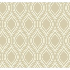 Taupe Sidewall Wallcovering by York