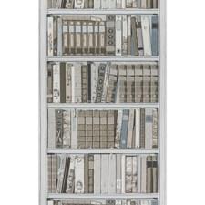 Greige Figurative Wallcovering by Brunschwig & Fils