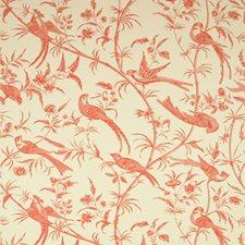 Rose Botanical Wallcovering by Brunschwig & Fils