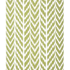 Chartreuse On White Modern Wallcovering by Brunschwig & Fils