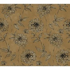 Bronze Pearl Metallic/Dusky Oyster/Inky Black Wall Décor Wallcovering by York