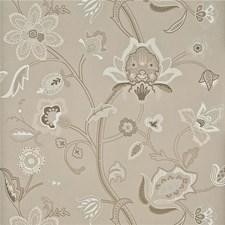 Linen/Ivory Wallcovering by G P & J Baker