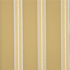 Strong Yellow Stripes Wallcovering by G P & J Baker