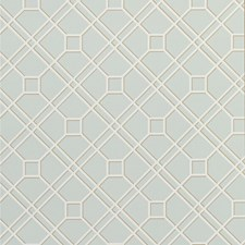 Soft Aqua Wallcovering by G P & J Baker